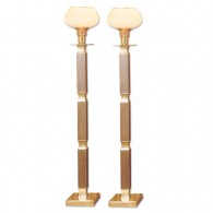 Dominican Torchiere Lamps