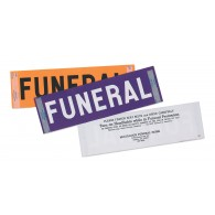Windshield Funeral Sticker Purple 500
