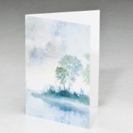Morning Mist Acknowledgement Card