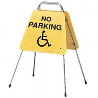 Self Folding: No Parking Handicapped