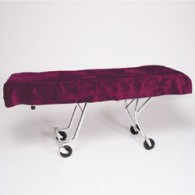 Mortuary Cot Cover Burgundy