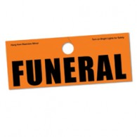 Funeral Hanger Tag