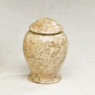 Fossil Marble Liang: 35 cu. in.