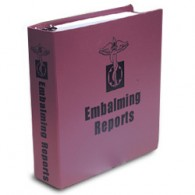 Embalming Reports Binder