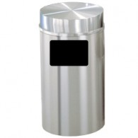 Flat-Top Trash Can