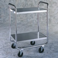 2-Tier Tubular Frame Cart