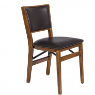 Retro Leather Upholstered Chair
