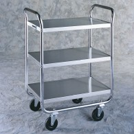 3-Tier Tubular Frame Cart