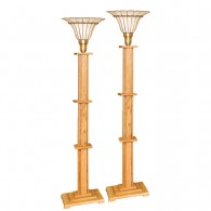 Illinois Prairie Torchiere Lamps