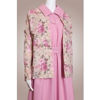 Polyester Suit w/Floral Jacket