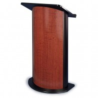 Contemporary Curved Panel Lectern