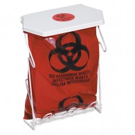 Biohazard Waste Disposal Rack & Bag