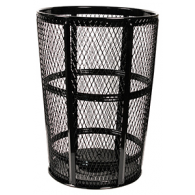 Wire Mesh Waste Receptacle
