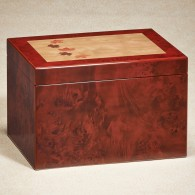 Burl Maple Memory Box