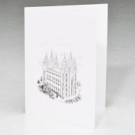 Mormon Acknowledgment card