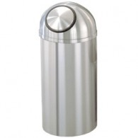 Domed Top Self-Closing Trash Can