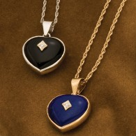 Heart Keepsake Pendants