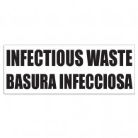 Bilingual Infectious Waste