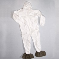 Microporous Coverall with Hood & Boots