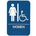Womens Handicap Restroom Sign
