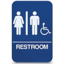Unisex Handicap Restroom Sign