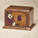 Hibiscus Butterfly (shown in walnut)
