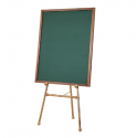 Magnetic Board Large Set - Brass Easel