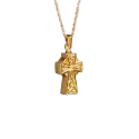 Celtic Cross-14k Gold Plated