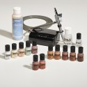 Complete Airbrush Kit: Dark-Tone