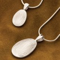 Lavender Bud Locket Keepsake Pendants