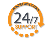 24/7 Product Appllication Support